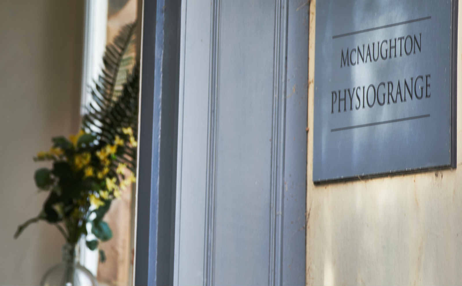 McNaughton PhysioGrange Front Door
